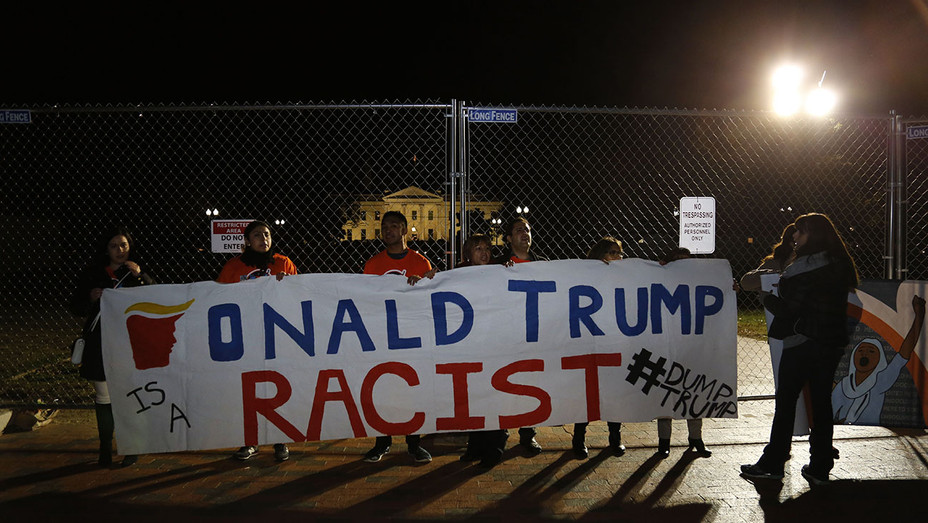 Protesters rally against Donald Trump  -November 8, 2016 - Getty -ONE TIME USE ONLY- H 2016