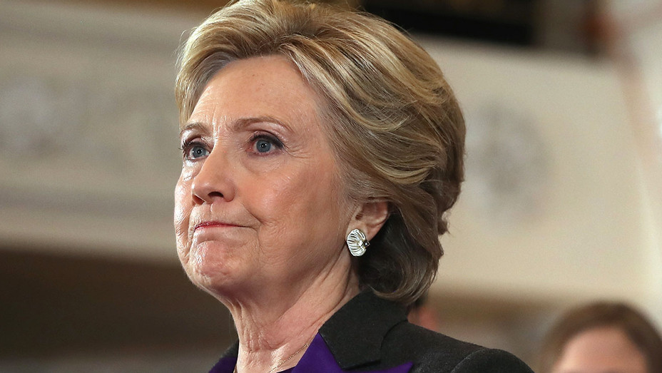 Former Secretary of State Hillary Clinton - concedes the presidential election 3- Getty-H 2016