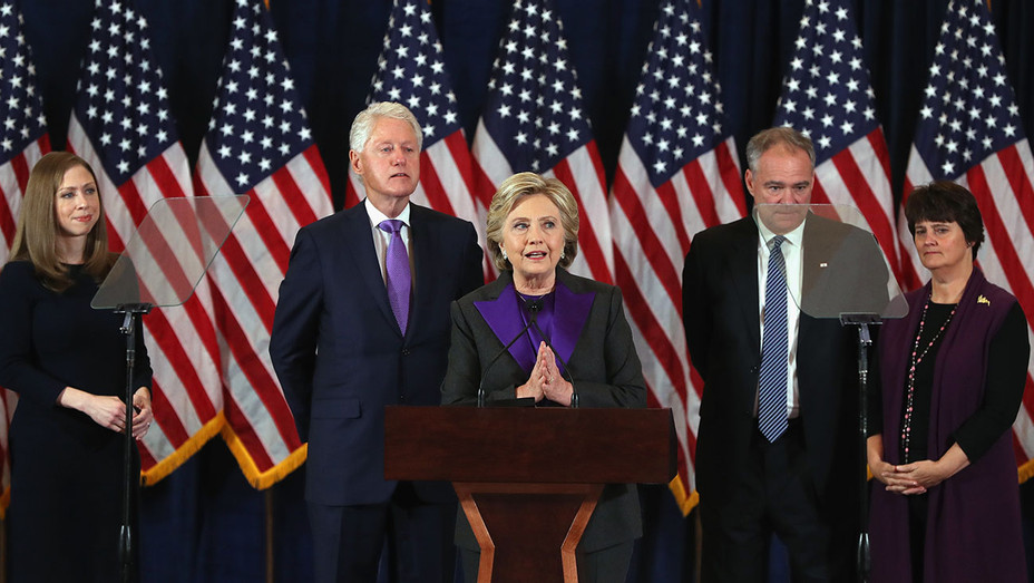 Former Secretary of State Hillary Clinton concedes-Nov. 9 - Getty-H 2016