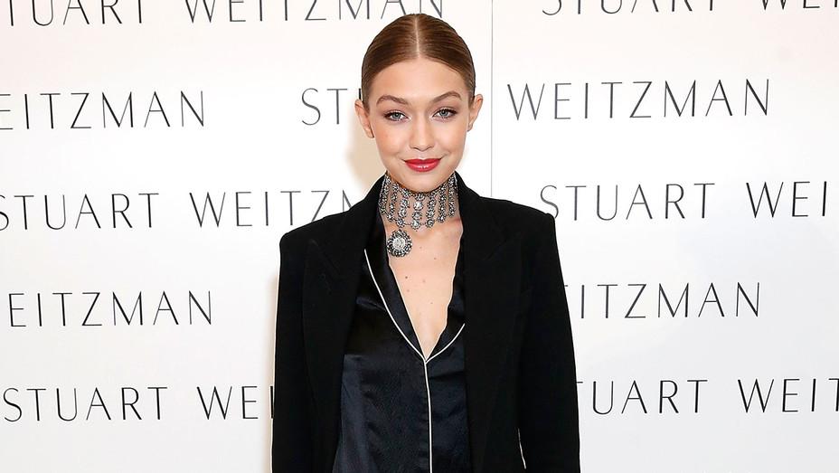 Gigi Hadid - Stuart Weitzman London Flagship Store -Getty- H 2016