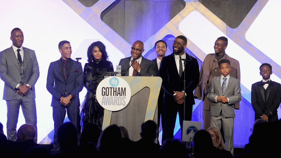 Moonlight Cast at Gotham Independent Film Awards - Getty - H 2016