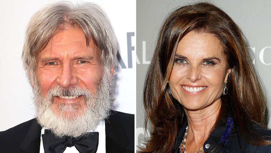 Harrison Ford and Maria Shriver - Getty -H 2016