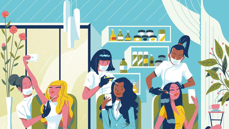 The Kardashian Effect- Plastic Surgery Surges Among Millennials  - Illo- sq2016
