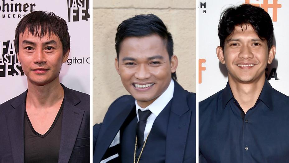 Tiger Chen, Tony Jaa, Iko Uwais split - Getty - H 2016