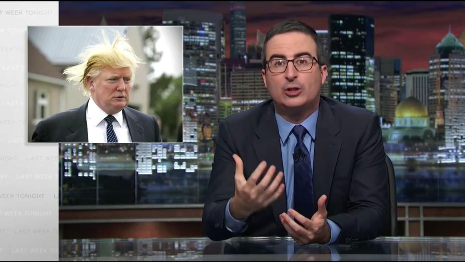 John Oliver - Trump's Candidacy Screen shot-H 2016