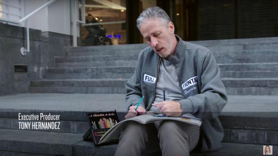 Jon Stewart Colors on Full Frontal — H 2016