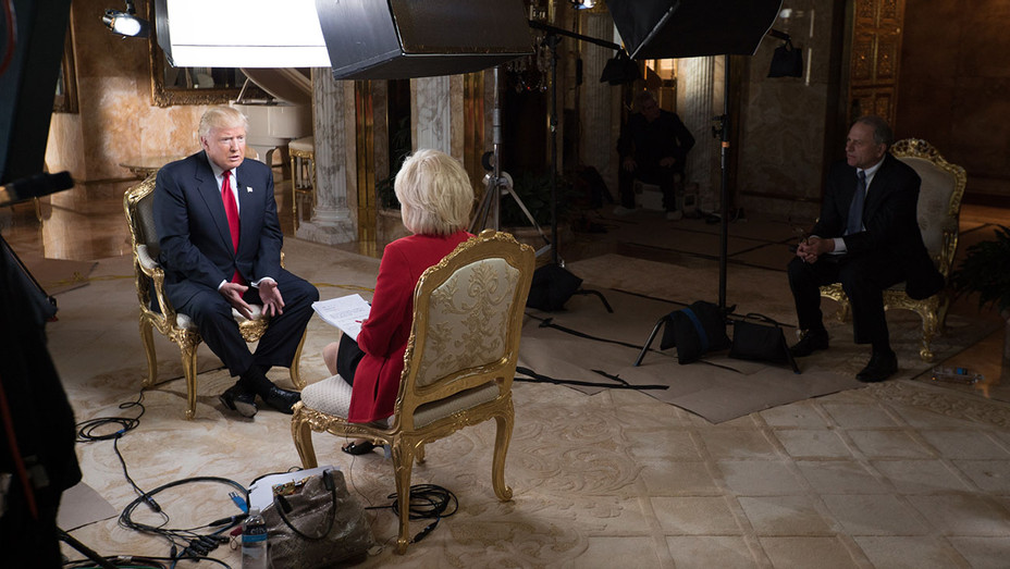 Lesley Stahl 60 Min Interview 2 - President-elect Donald J. Trump - H - 2016