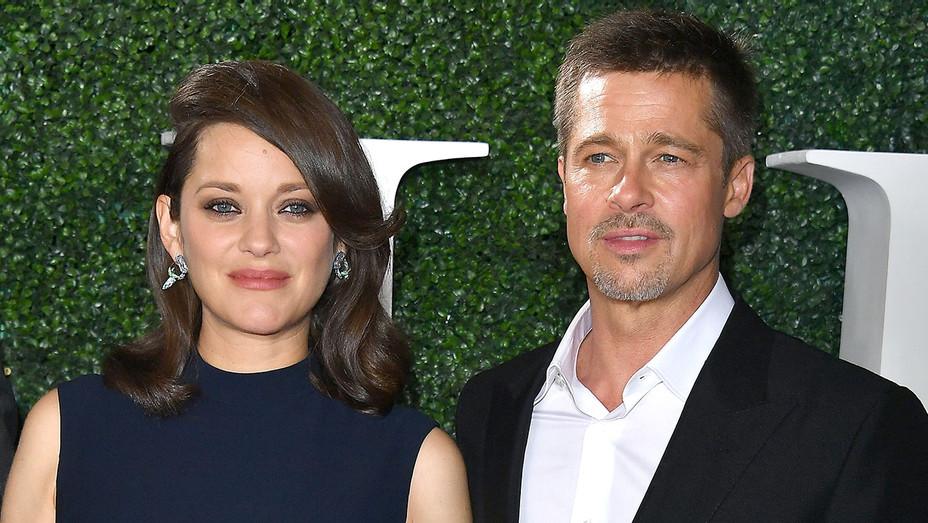 Marion Colltoid Brad Pitt - Allied Premiere - Getty - H - 2016