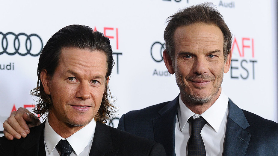 Mark Wahlberg and director Peter Berg  - Patriots Day - Getty - H - 2016