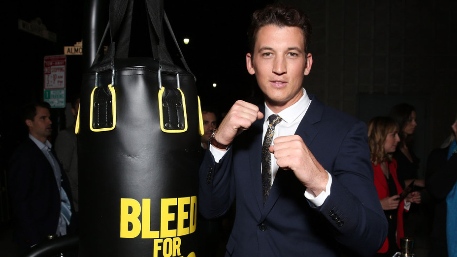 miles teller - Bleed For This Premiere - Getty - H - 2016