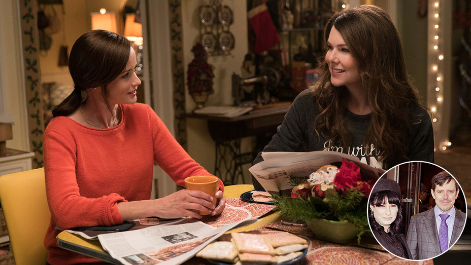 Gilmore Girls: A year in the life -Inset of Showrunners Amy and Dan Palladino - Getty-H 2016