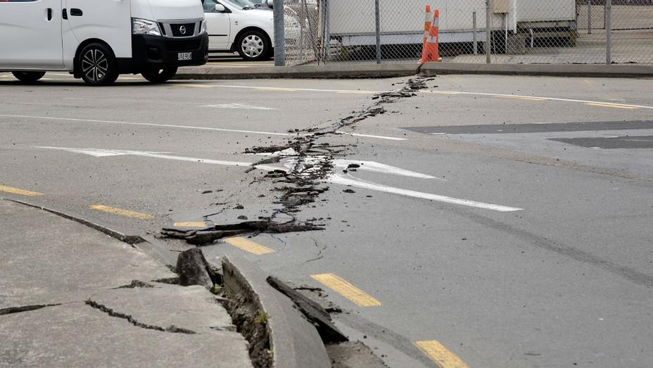 Wellington, New Zealand earthquake damage - Getty H 2016