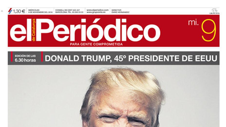 TRUMP- Spain - Periodico - Magazine Cover - Screen Shot-EMBED 2016