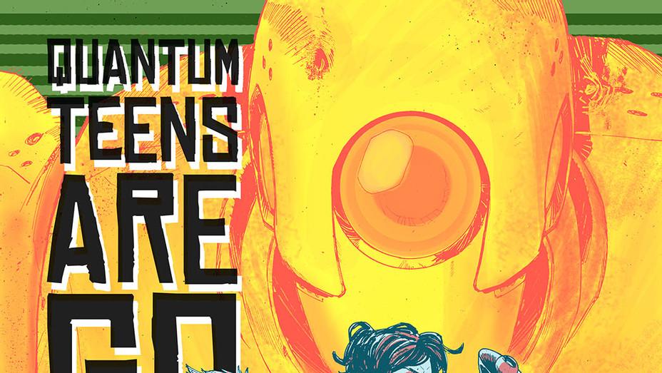 Quantum Teens Are Go cover - P - 2016