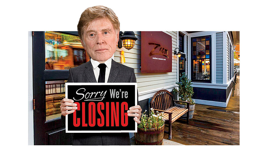 Robert Redford's Park City Restaurant Zoom to Close Its Doors -Photo illo-H 2016