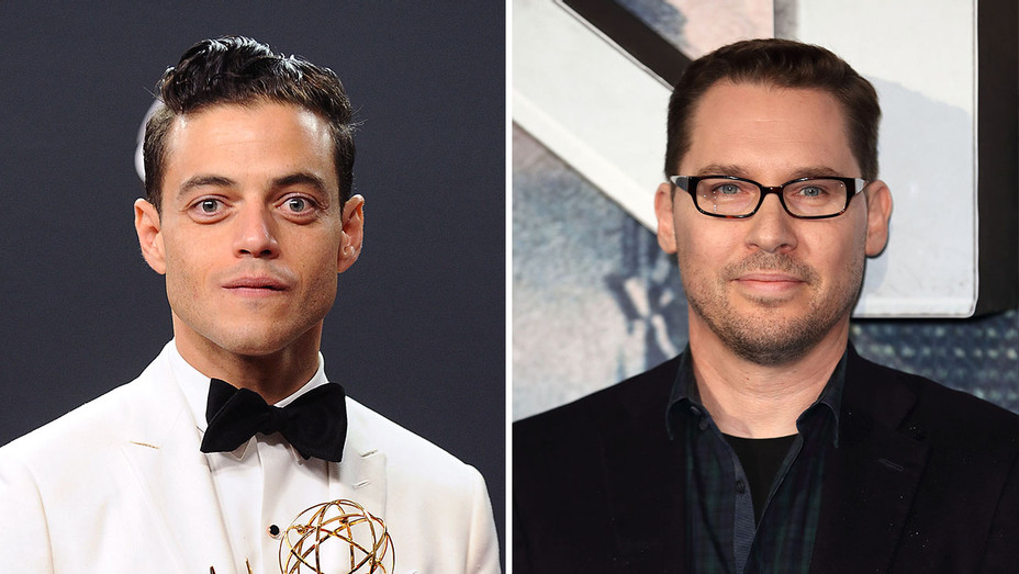 Rami Malek_Bryan Singer_Split - Getty - H 2016