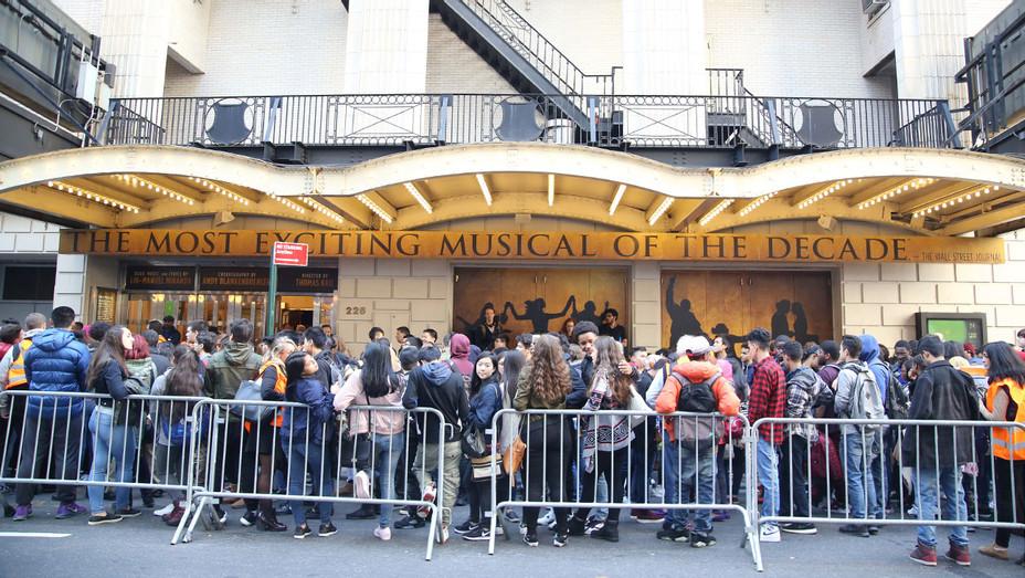 Richard Rodgers Theatre - Hamilton - Getty - H - 2016