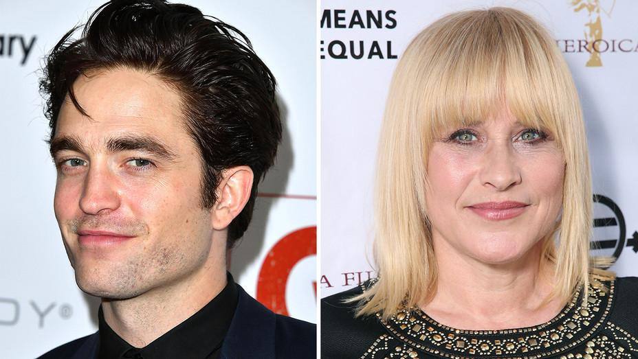 Robert Pattinson and Patricia Arquette Split -Getty-h 2016