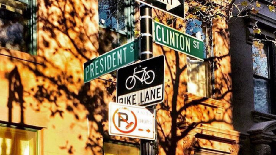 President Clinton intersection - H