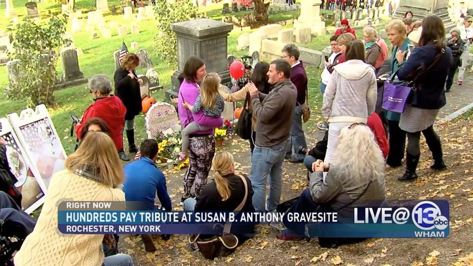 Susan B Anthony Grave - Screenshot - H - 2016