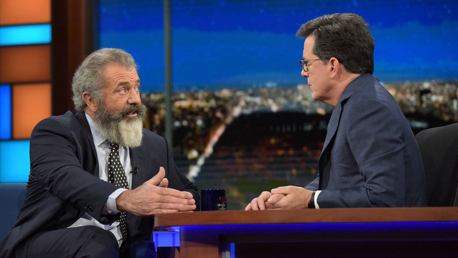 The Late Show with Stephen Colbert with Mel Gibson - Publicity - H 2016