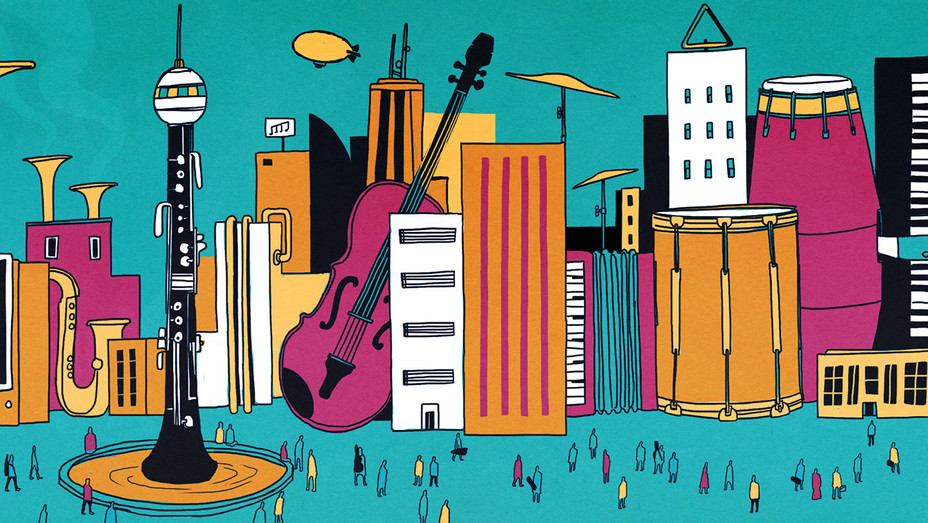 The Top 25 Music Schools 2016 - Illustration by Michael Hirshon -H 2016