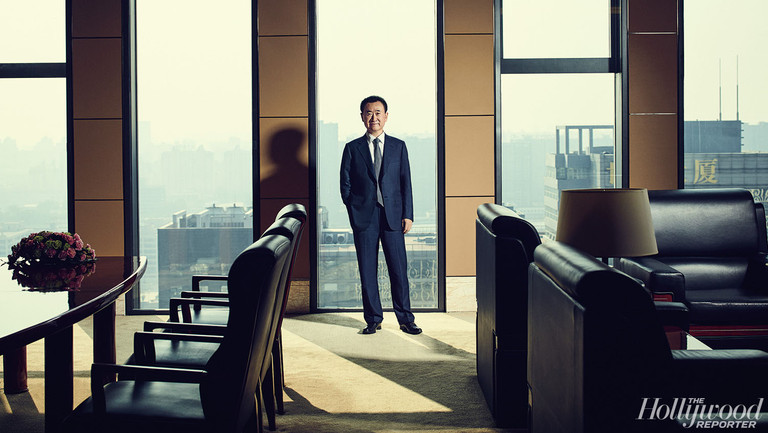 """Wanda Chairman Reveals Ambitious Plan to Invest Billions in """"All Six"""" Hollywood Studios"""