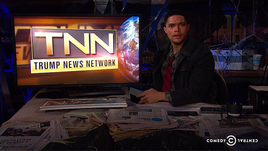 trevor noah in dystopia-Screen shot-H 2016