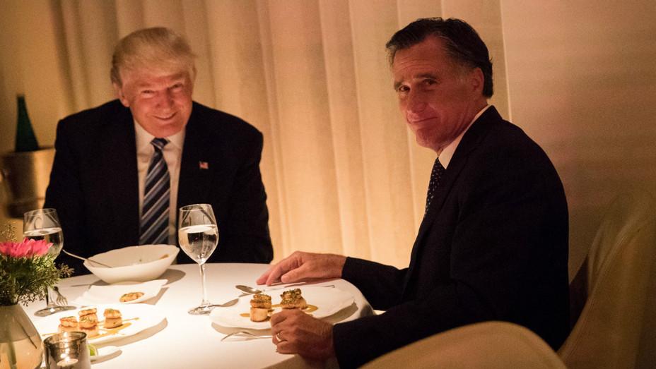 Trump Romney dinner 2 Getty 2016 - H