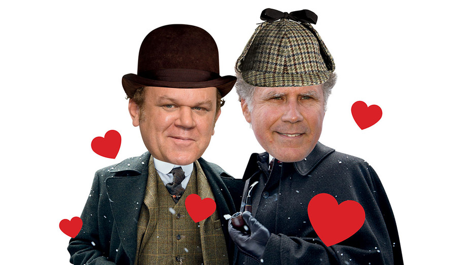 Will Ferrell - John C. Reilly Comedy -Holmes and  Watson - Graphic-H 2016