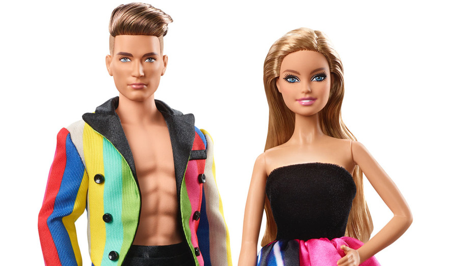 2016 Moschino - Barbie and Ken gift set-H 2016
