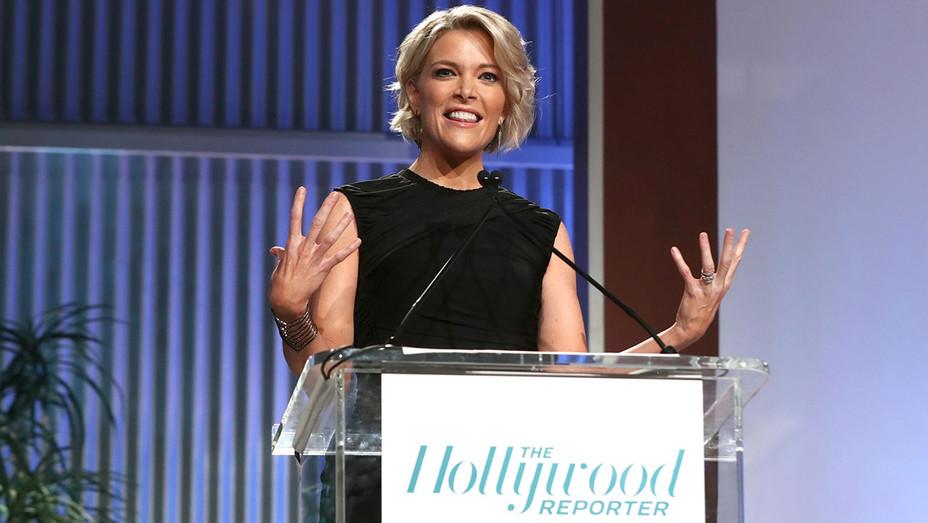 Megyn Kelly speaks onstage during THR's Annual Women in Entertainment Breakfast- Getty-H 2016