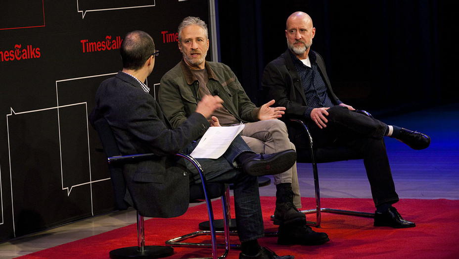 Jon Stewart Times Talk- Steve Meyer for The New York Times - Publicity - H 2016