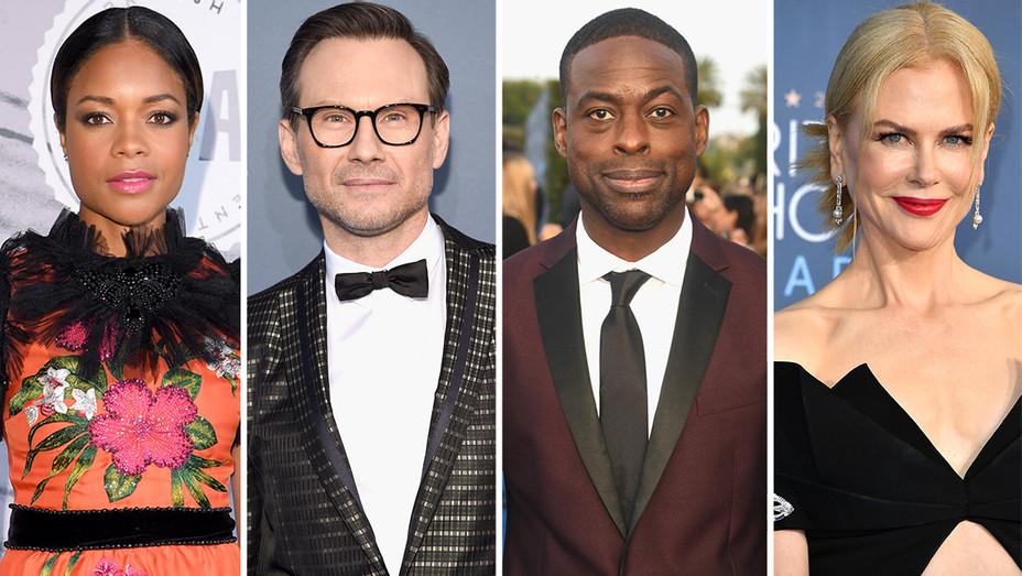 Naomie Harris, Christian Slater, Sterling K. Brown, Nicole Kidman Split-Getty-H 2016