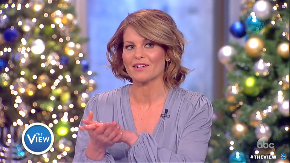 Candace Cameron Bure Announces Her Departure From The View - Screen Shot-H 2016
