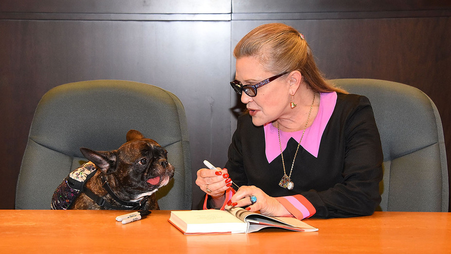 Carrie Fisher_Gary Fisher - Getty - H 2016