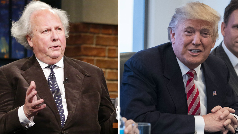 Graydon Carter Trump split Getty 2016 - H