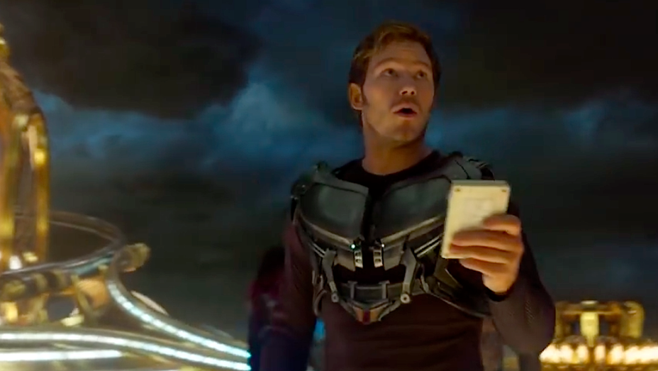 Chris Pratt - Guardians of the Galaxy Vol 2 Teaser Still - H 2016