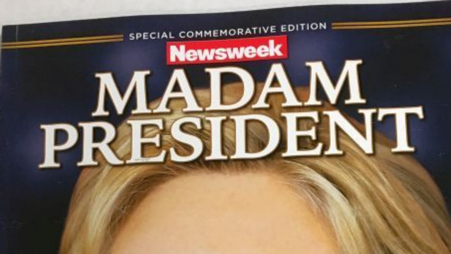 Hillary Clinton recalled Newsweek cover - P