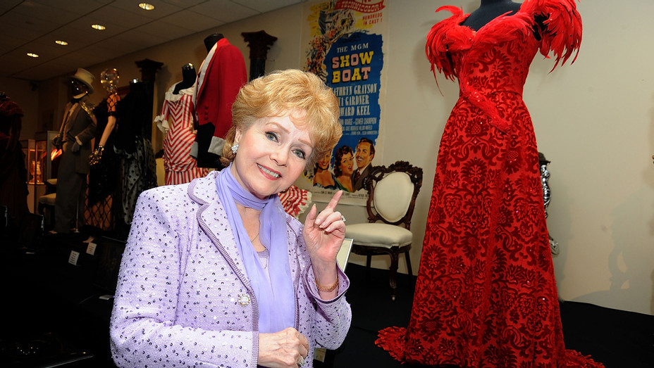 Debbie Reynolds Costume Exhibition_Getty - H 2016