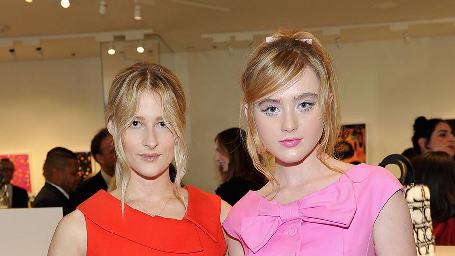Destry Allyn Spielberg and Kathryn Newton - Getty - P 2016