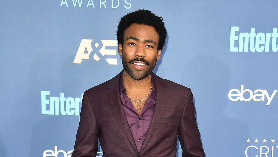 Donald Glover_Maroon Suit - Getty - P 2016