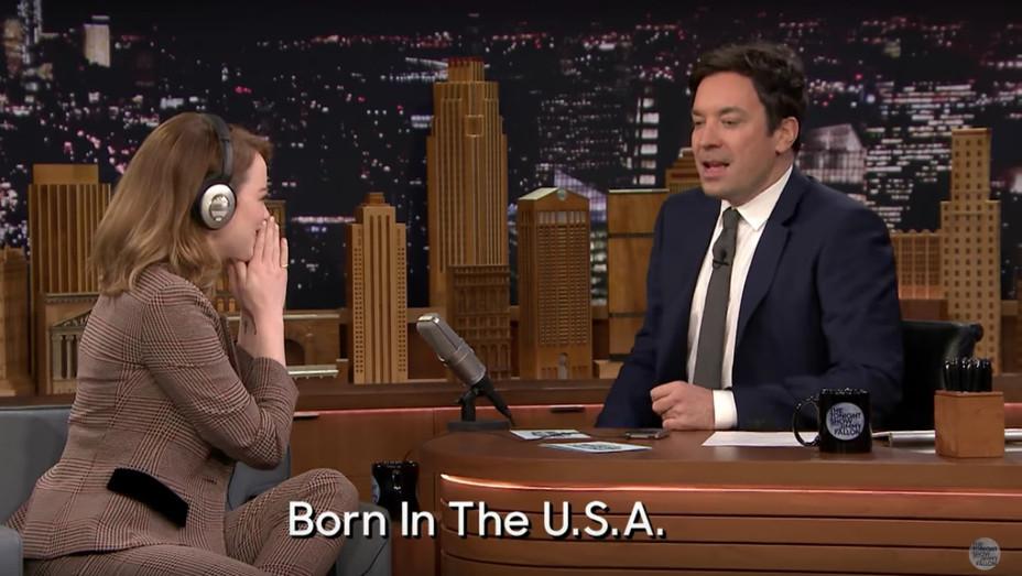 Emma Stone on Tonight Show — H 2016