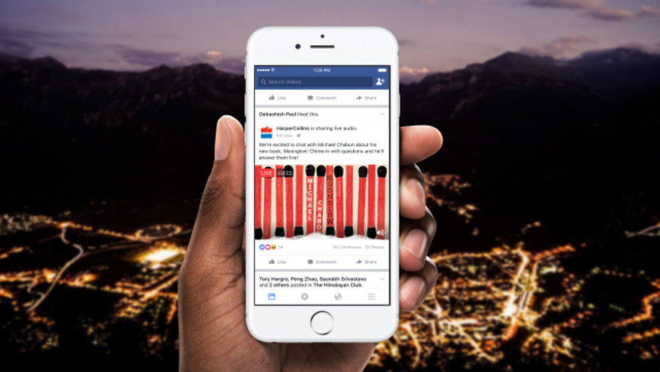 Facebook Live Audio announcement - H