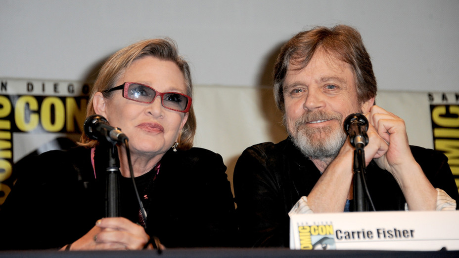 Carrie Fisher and Mark Hamill - H 2016 Getty