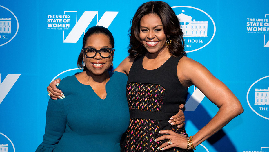 First Lady Michelle Obama and Oprah Winfrey -Publicity-H 2016