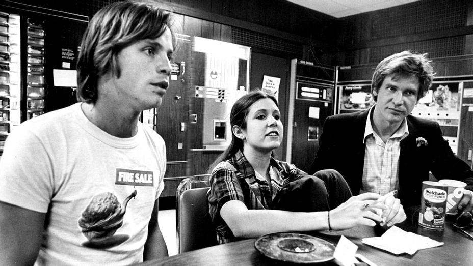 Mark Hamill, Carrie Fisher and Harrison Ford 1978 - The Denver Post- ONE TIME USE ONLY- H 2016