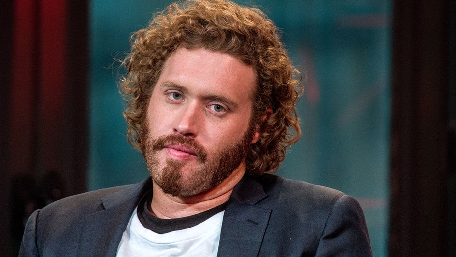 TJ Miller - AOL Studios -Getty -H 2016