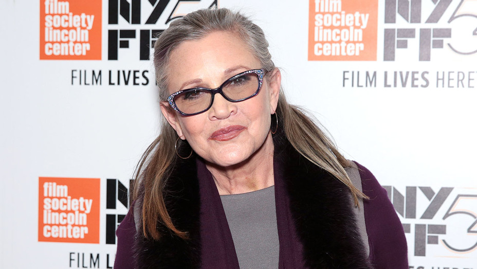 Carrie Fisher attends the 54th New York Film Festival - Getty -H 2016