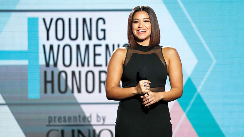 Gina Rodriguez - Marie Claire Young Women's Honors - Getty-H2016